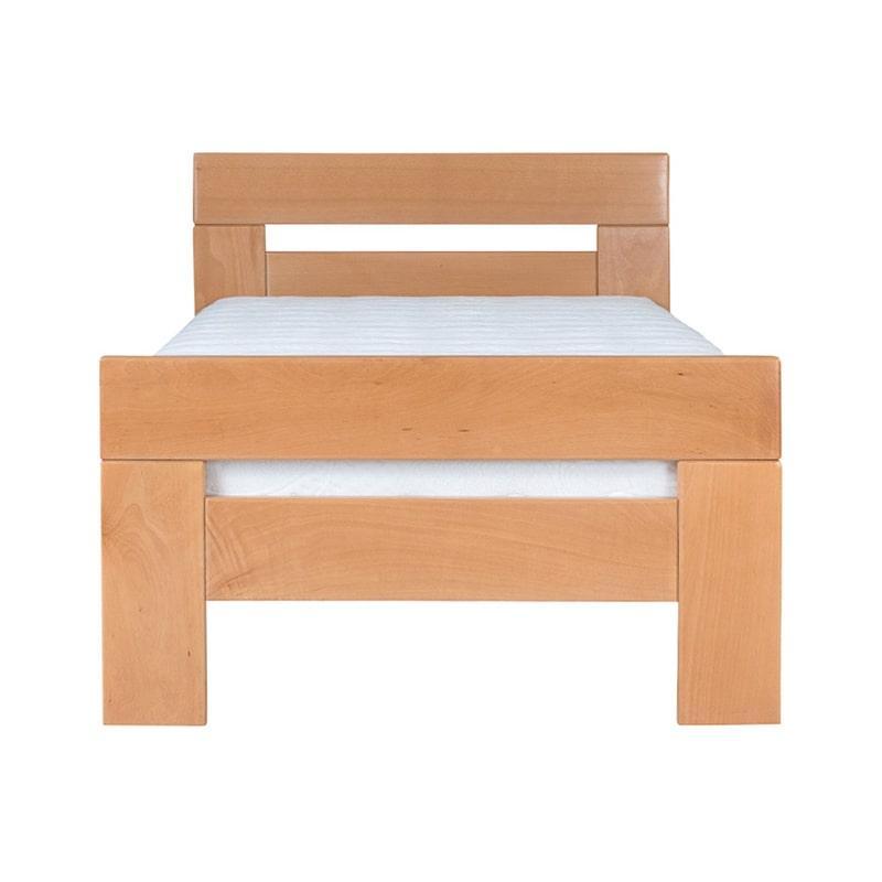 Drveni krevet Lara 90x200cm Natur boja pogled 2