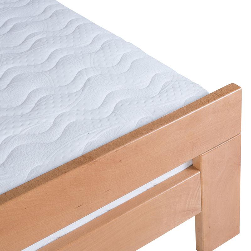Drveni krevet Lara 90x200cm Natur boja pogled 3