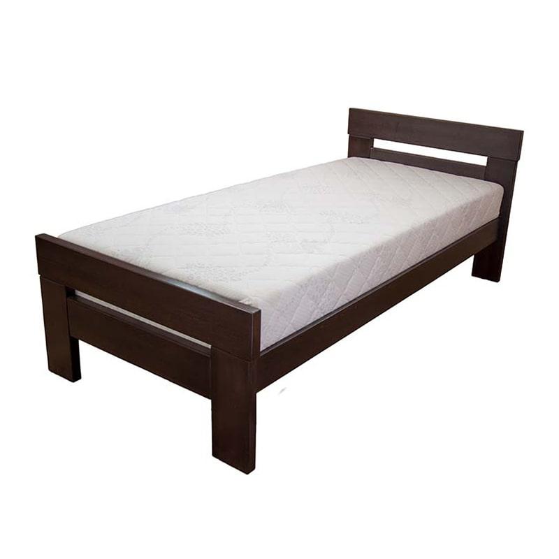 Drveni krevet Lara 90x200cm Orah boja