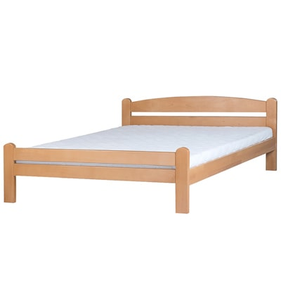 Drveni krevet DP Masiv 160x200cm Natur boja