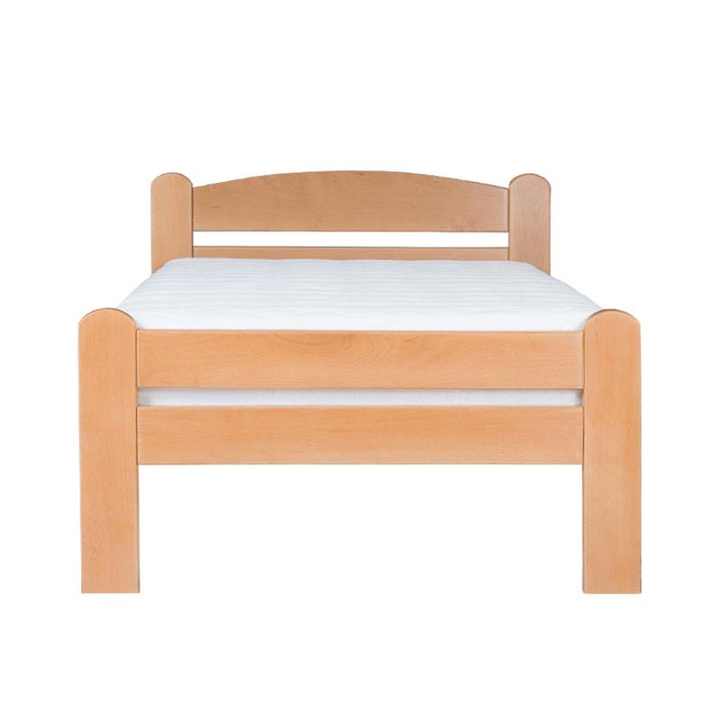 Drveni krevet DP Masiv 90x200cm Natur boja pogled 2