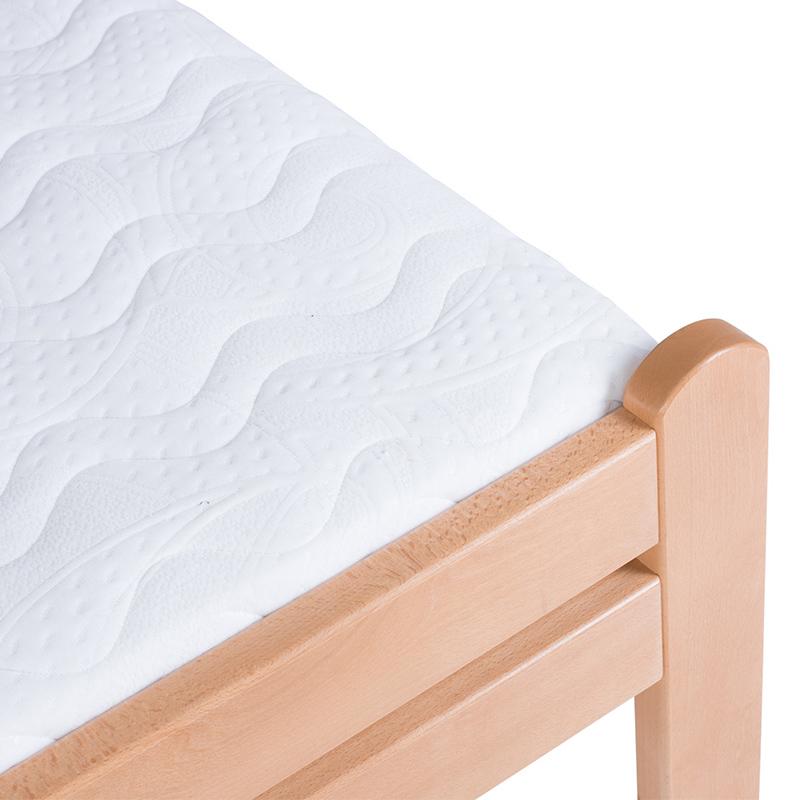 Drveni krevet DP Masiv 90x200cm Natur boja pogled 3