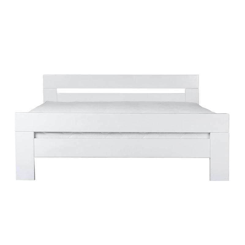 Drveni krevet Lara 160x200cm Bela boja pogled 2