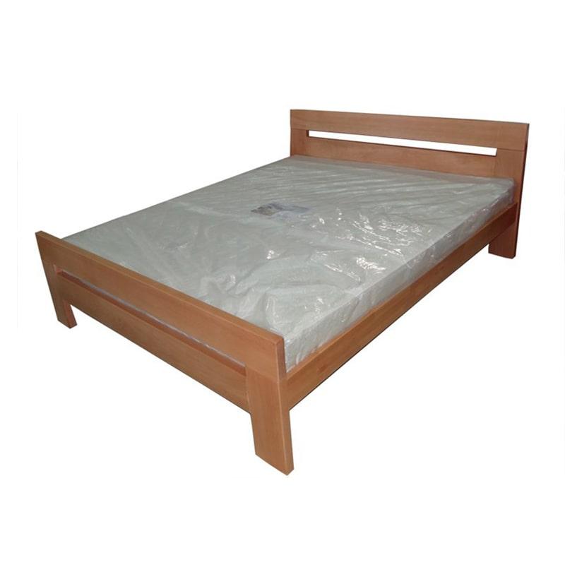 Drveni krevet Lara 160x200cm Natur boja pogled 1