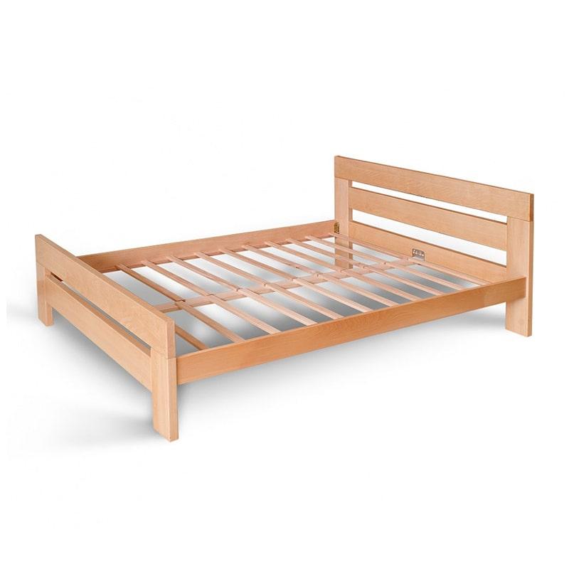 Drveni krevet Lara 160x200cm Natur boja pogled 2
