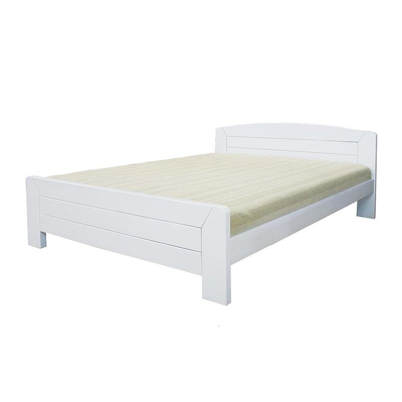 Drveni krevet Lux 160x200cm bela pecena boja