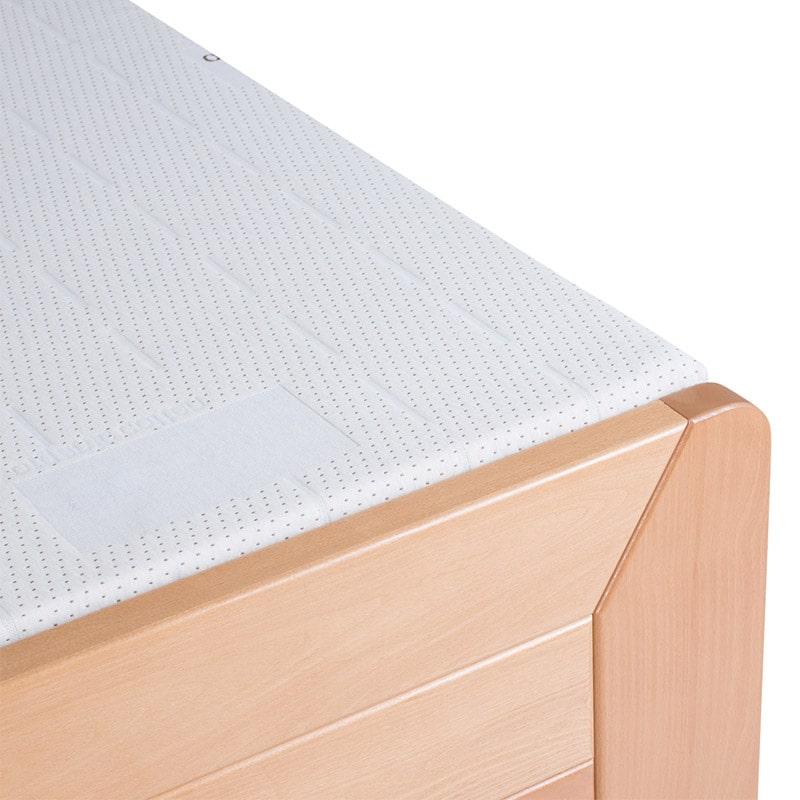 Drveni krevet Lux 160x200cm natur pogled 3