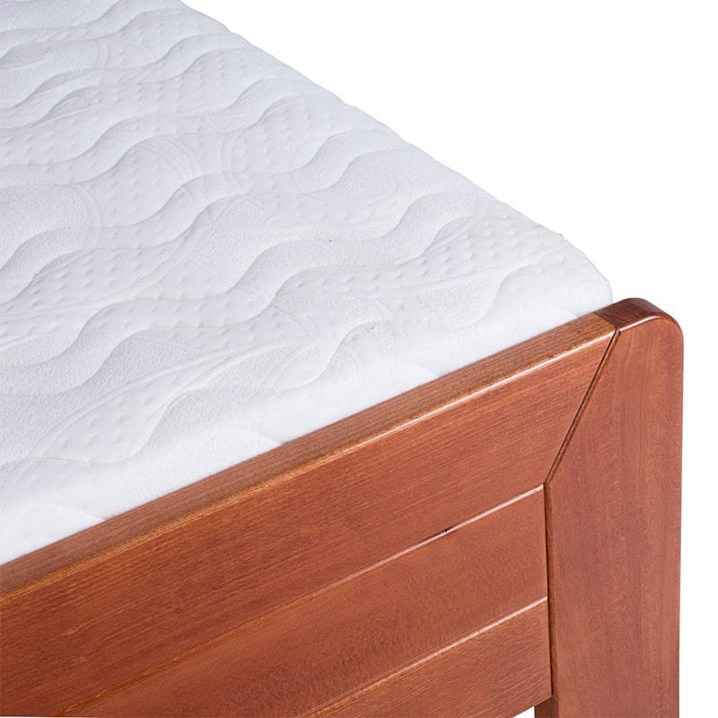 Drveni krevet Lux 90x200cm Tresnja boja pogled 3