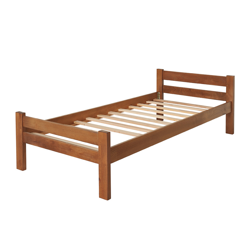 Drveni krevet Ravni 90x200cm Orah boja