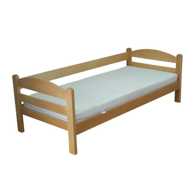 Drveni krevet Sofa 90x200cm Natur boja pogled 1