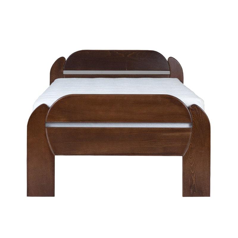 Drveni krevet Violeta 90x200cm Orah boja pogled 2