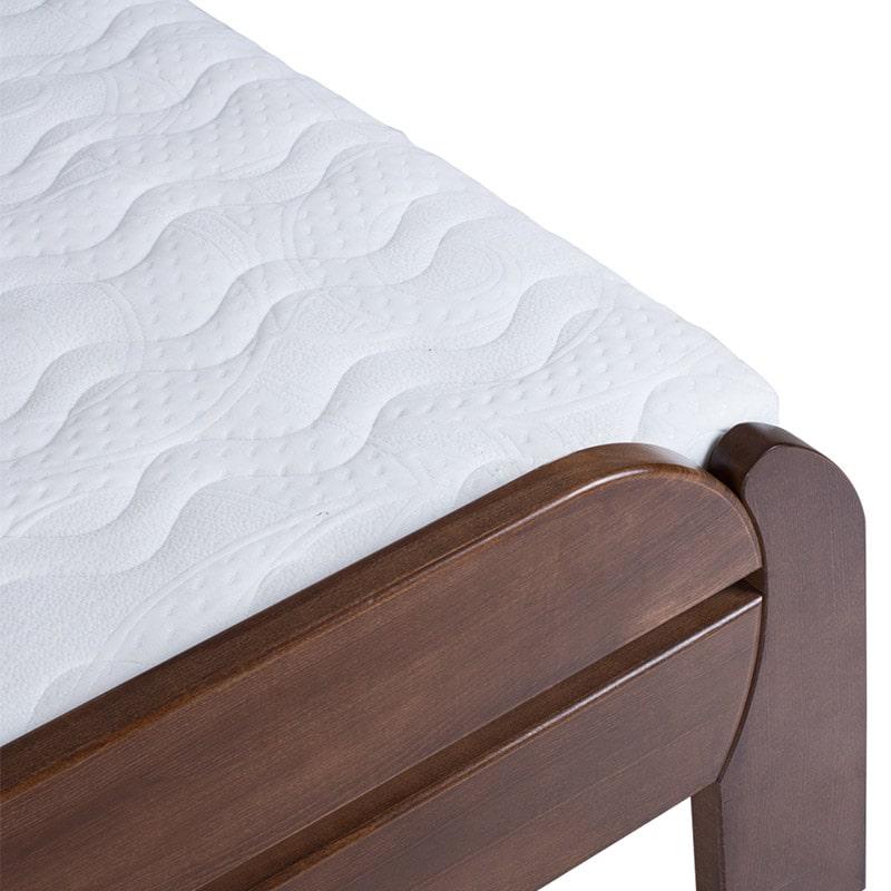 Drveni krevet Violeta 90x200cm Orah boja pogled 3