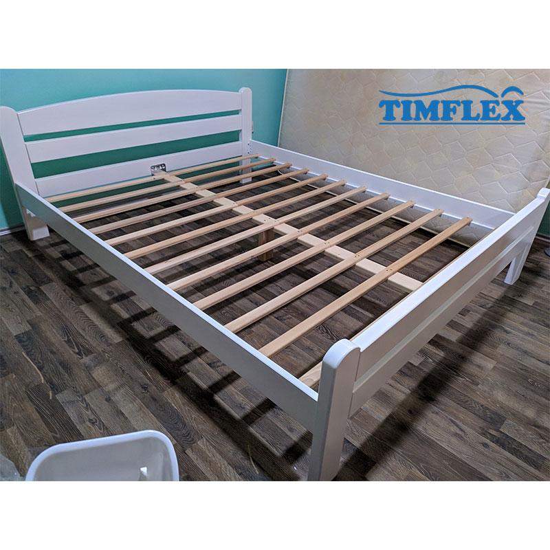 Drveni krevet dp masiv 160x200cm bela boja