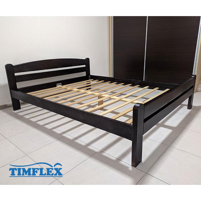 Drveni krevet Dp masiv 160x200cm wenge boja apartman