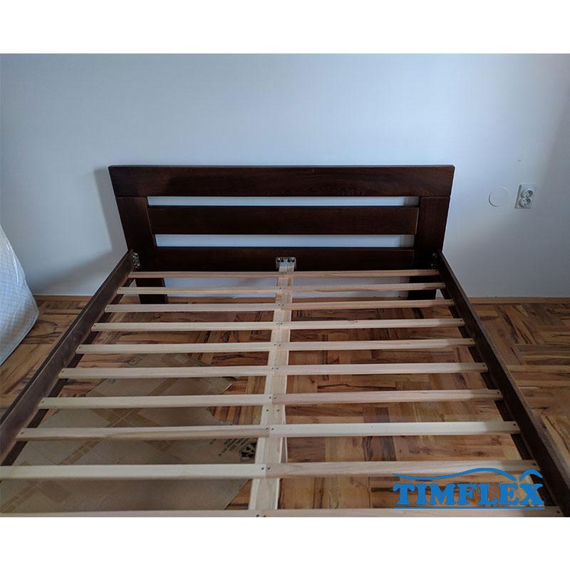 Drveni krevet lara 160x220cm orah boja 2 zadovoljan kupac