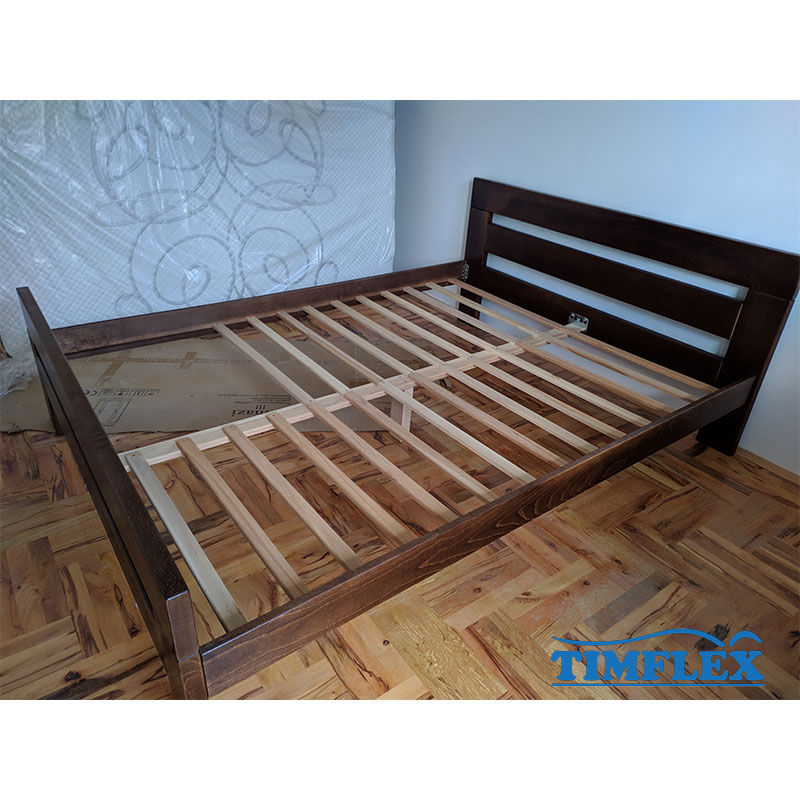 Drveni krevet lara 160x220cm orah boja